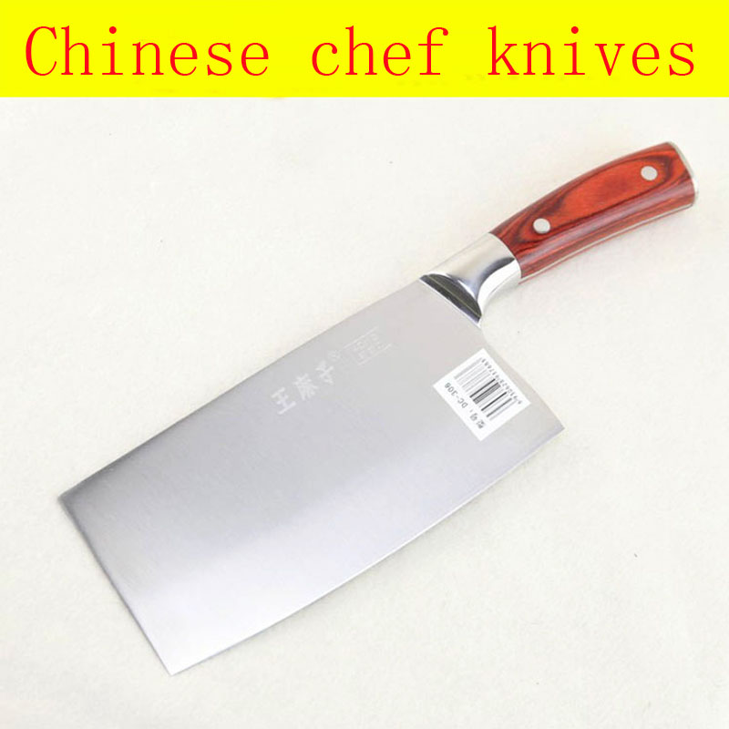Free Shipping LD brand Stainless Steel Kitchen Knife Chef Cleaver Slicing Vegetable Meat Fish Knives Household Cooking Knife in Kitchen Knives from Home Garden