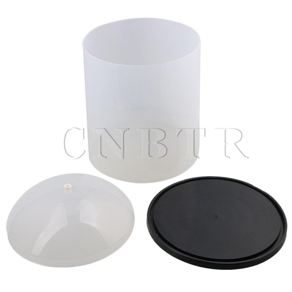 Здесь продается  CNBTR PVC D22.5xH30cm Anti-Dust Smoothly Seamless Translucent Enameled Wire Cover Top of Cover with Porcelain Eye and Pedestal  Инструменты