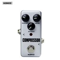 Kokko FCP2 Mini Compressor Guitar Effect Pedal Portable, High Quality Guitar Effect Pedal/Guitar Accessories