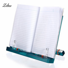 Zebra Adjustable Music Book Holder Bookstand Portable Reading Desk Stand Document Holder Musical Instruments Accessories