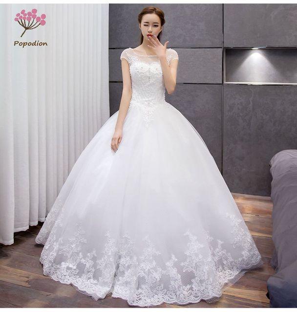 Vestidos De Noiva Robe De Mariage Bridal Dresses Pregnant Woman