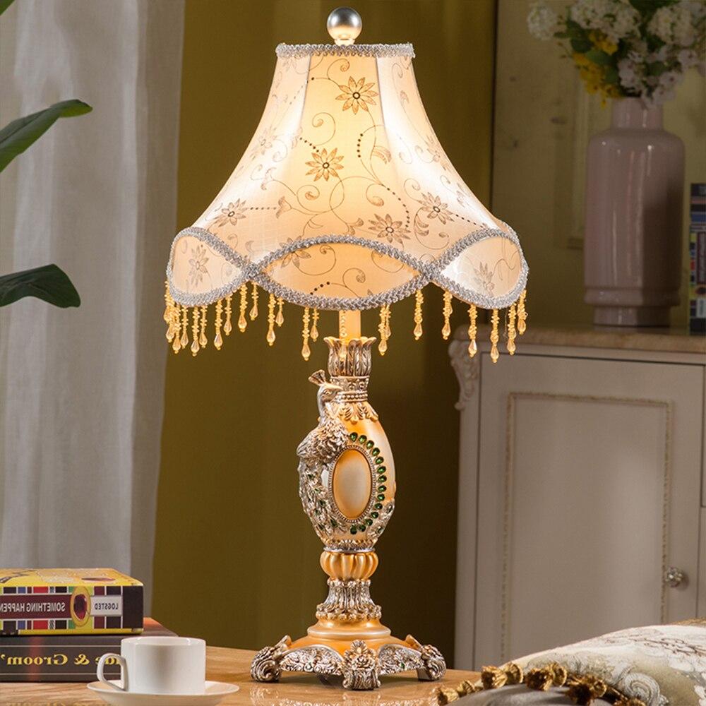 Online kaufen großhandel pfau lampe aus china pfau lampe ...