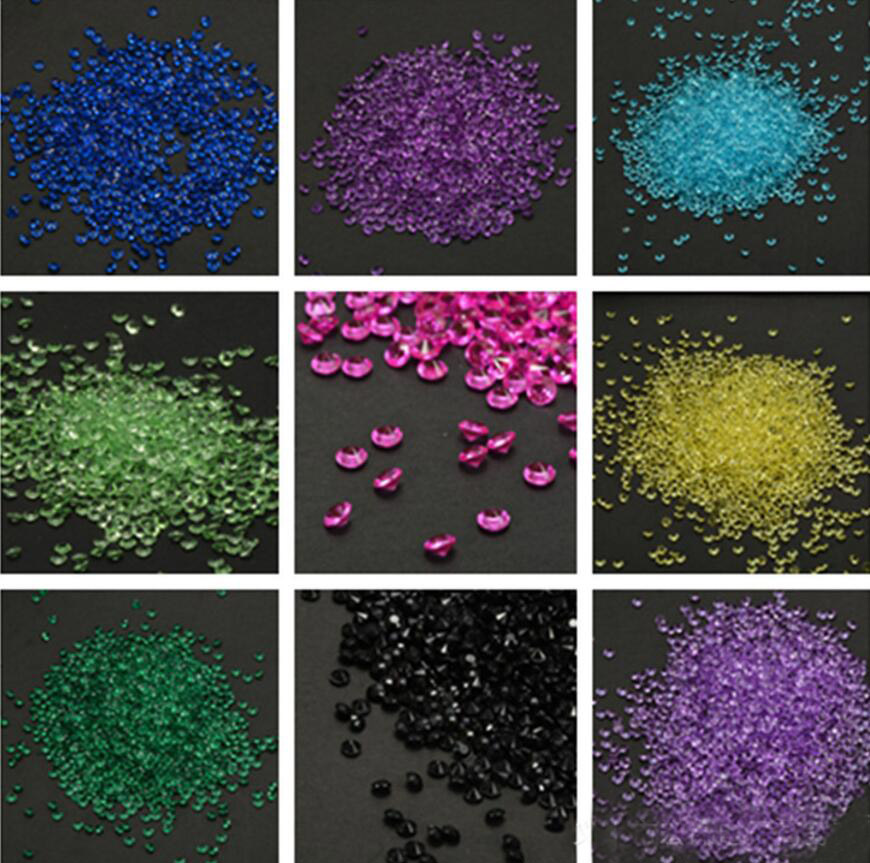 Obedient 10,000pcs 4.5mm Pointed Crystals Diamond Beads For Wedding Bridal Party Holiday Throwing Confetti Table Decoration Sprinkles Price Remains Stable Party Diy Decorations Event & Party