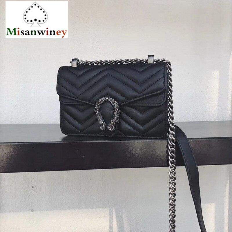 Fashion Diamond Lattice Shoulder Messenger Women Bags Designer Handbags High Quality Sac A Main Femme De Marque Luxe Cuir 2018