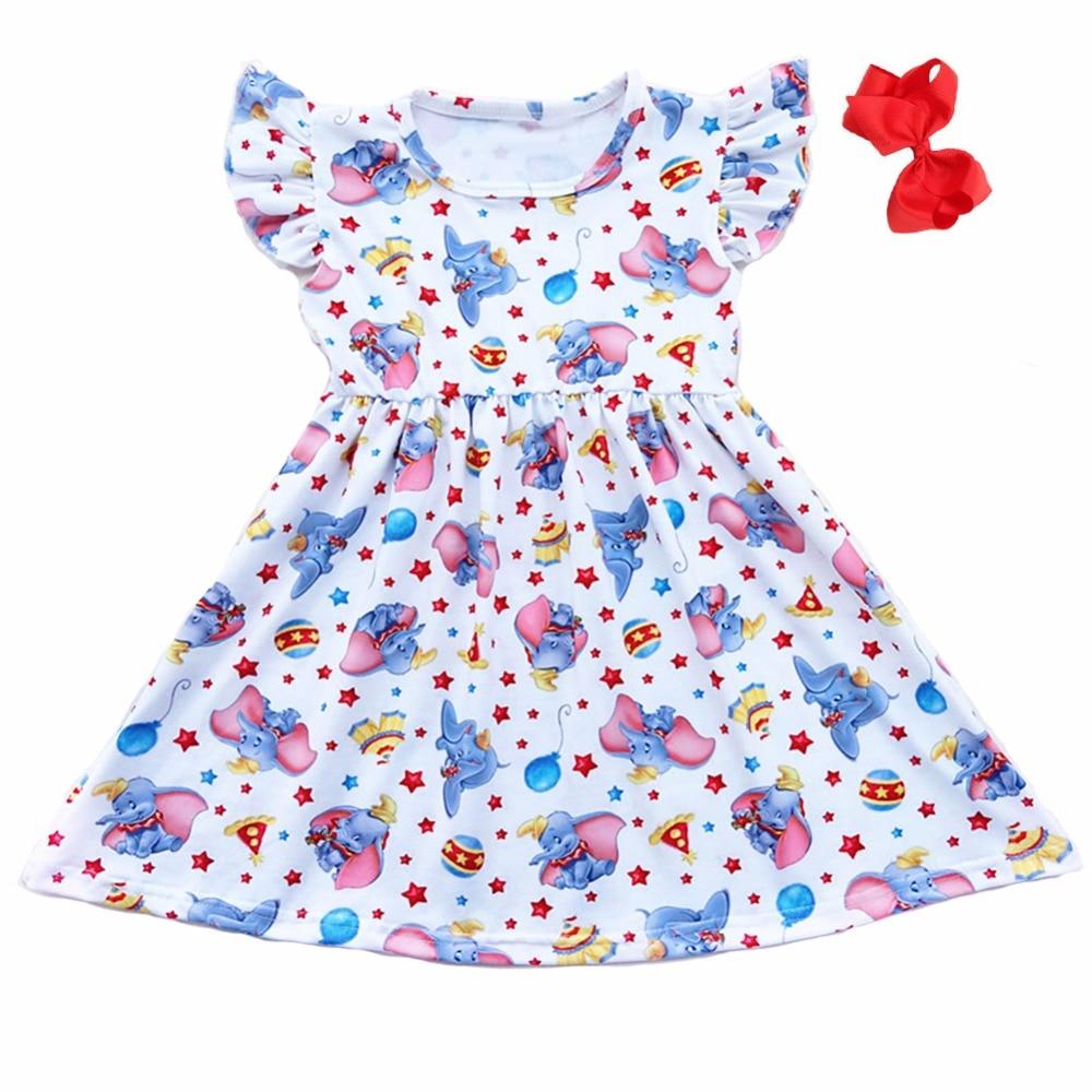 Clever Baby Mädchen Sommerkleid Kinder Mädchen Einhorn Juli Mutter & Kinder Kleidung Sets Kleid Kinder Einhorn Milch Seidenkleid Boutique Kleid Mit Passenden Bögen