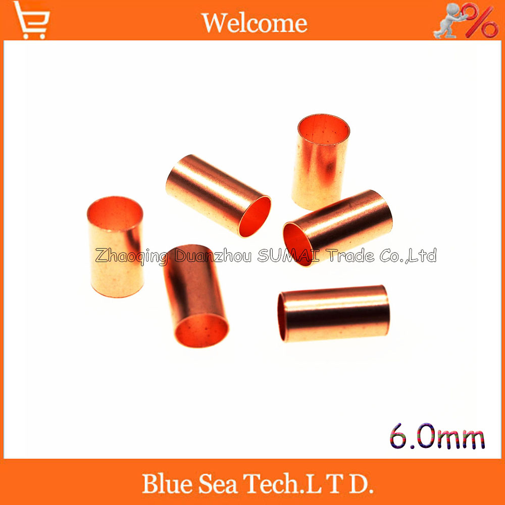 6.0mm Copper wire terminal,Pipe/circular tube terminal,Tubular terminal for maintenance and modification