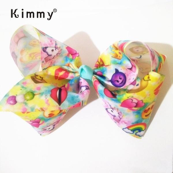 9492a73157ae New Popular 8 inch Custom Girls Beautiful Large Emoji Hair Bow - Buy Large  Emoji Hair Bow