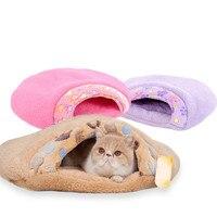 Hamburger Super Soft Cat Bed House for Cat Cotton Dog Pet Products Mini Puppy Pet Dog Bed Soft Comfortable Pet Sofa EJ874219