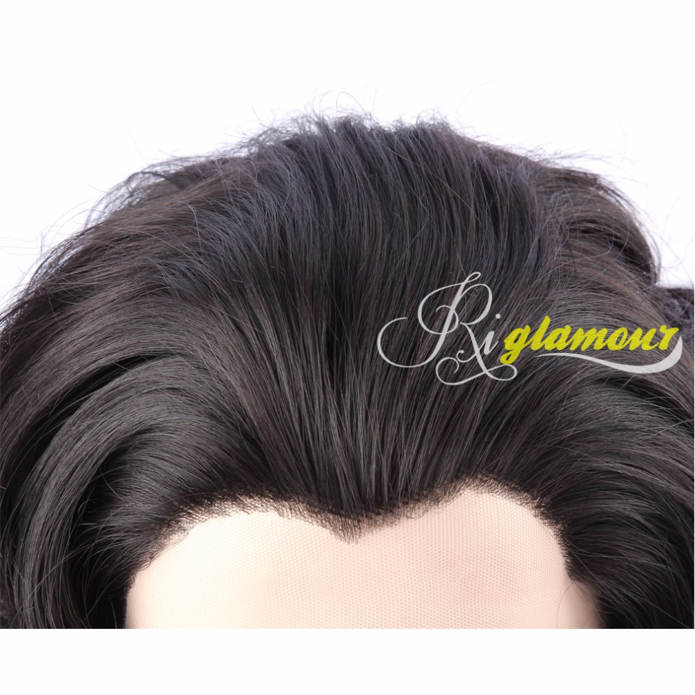 Black Wavy Wig 3