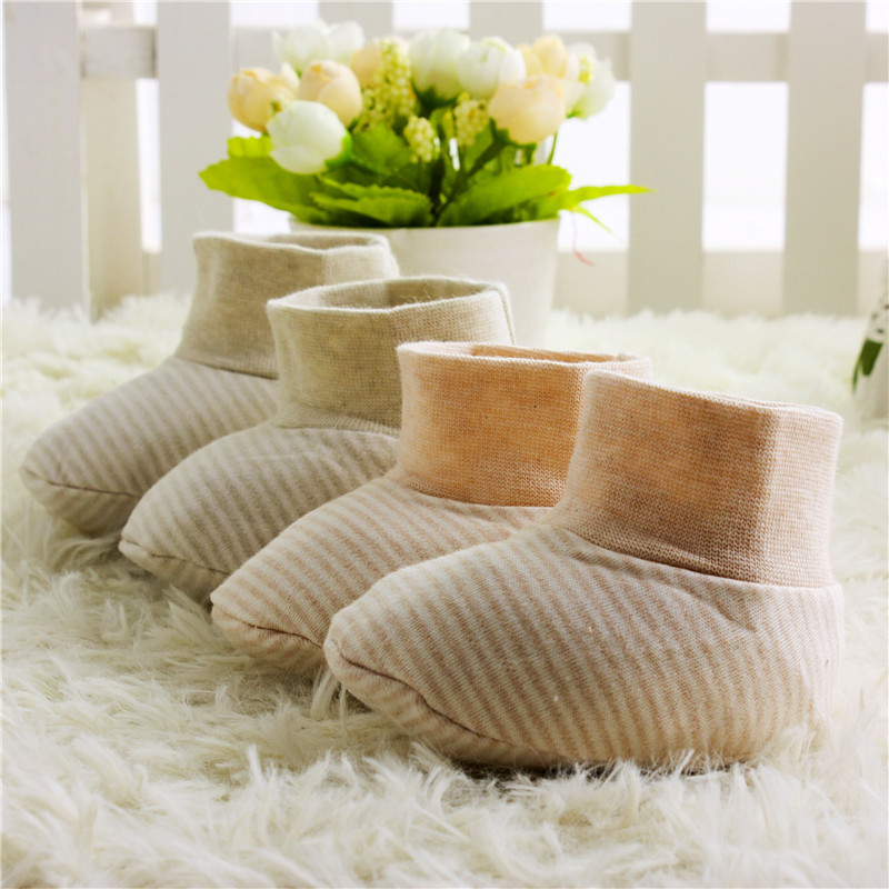 Cotton baby socks shoes baby booties
