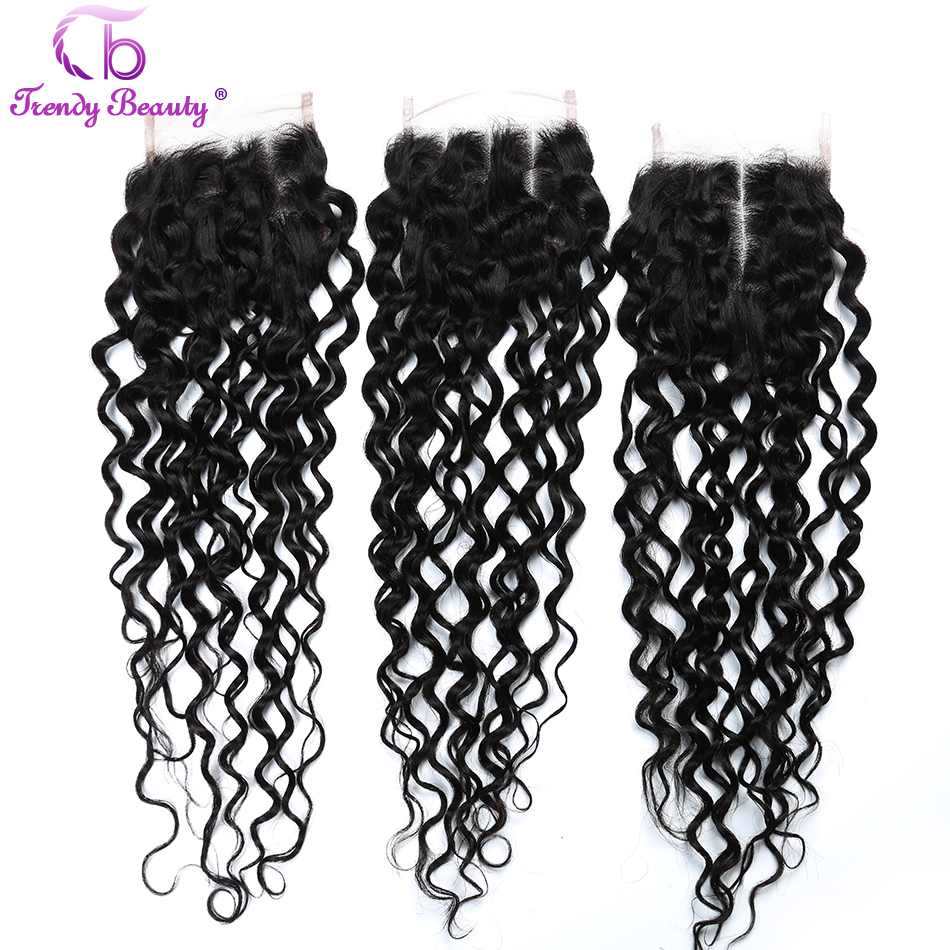 trendy beauty malaysian water wave human hair bundles 8 28 inches 26 Inch Weave trendy beauty malaysian water wave human hair bundles 8 28 inches 3bundles with a closure middle free three non remy color 1b in 3 4 bundles with closure