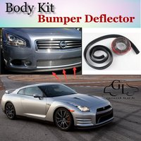 Bumper Lip Deflector Lips For Nissan GT R GTR GT R Front Spoiler Skirt For TopGear Fans to Car Tuning View / Body Kit / Strip