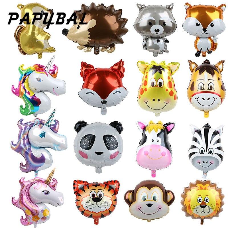10Pcs Safari Animals Theme Paper Plates Kids Birthday Party Disposable Dis GF