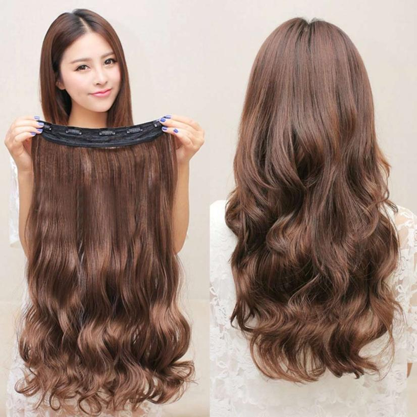Head Clip Curly Wavy Women Synthetic Hair Extension Styling Accessory Oct 14 sorrento