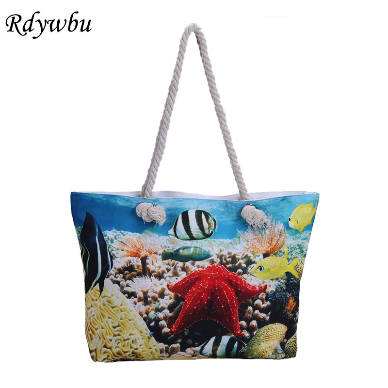 rdywbu-3d-animal-printed-tote-bag-submarine-world-small-fresh-tropical-fish-beach-bag-canvas-bag-big-rope-beach-handbag-h185