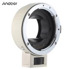 Andoer פוקוס אוטומטי AF EF NEXII עדשת מתאם טבעת עבור Canon EF EF S עדשה לשימוש עבור Sony NEX E הר מצלמה מלא מסגרת A7/A7R