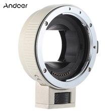 Andoer otomatik odaklama AF EF NEXII canon için Lens adaptör halkası EF EF S Lens için Sony NEX E montaj kamera tam çerçeve A7 /A7R