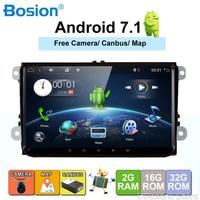 9 дюймов 2 Din Android 7,1 VW Car Audio DVD плеер gps для гольфа 6 Polo Bora JETTA B6 PASSAT Tiguan; Skoda OCTAVIA 3g OBD