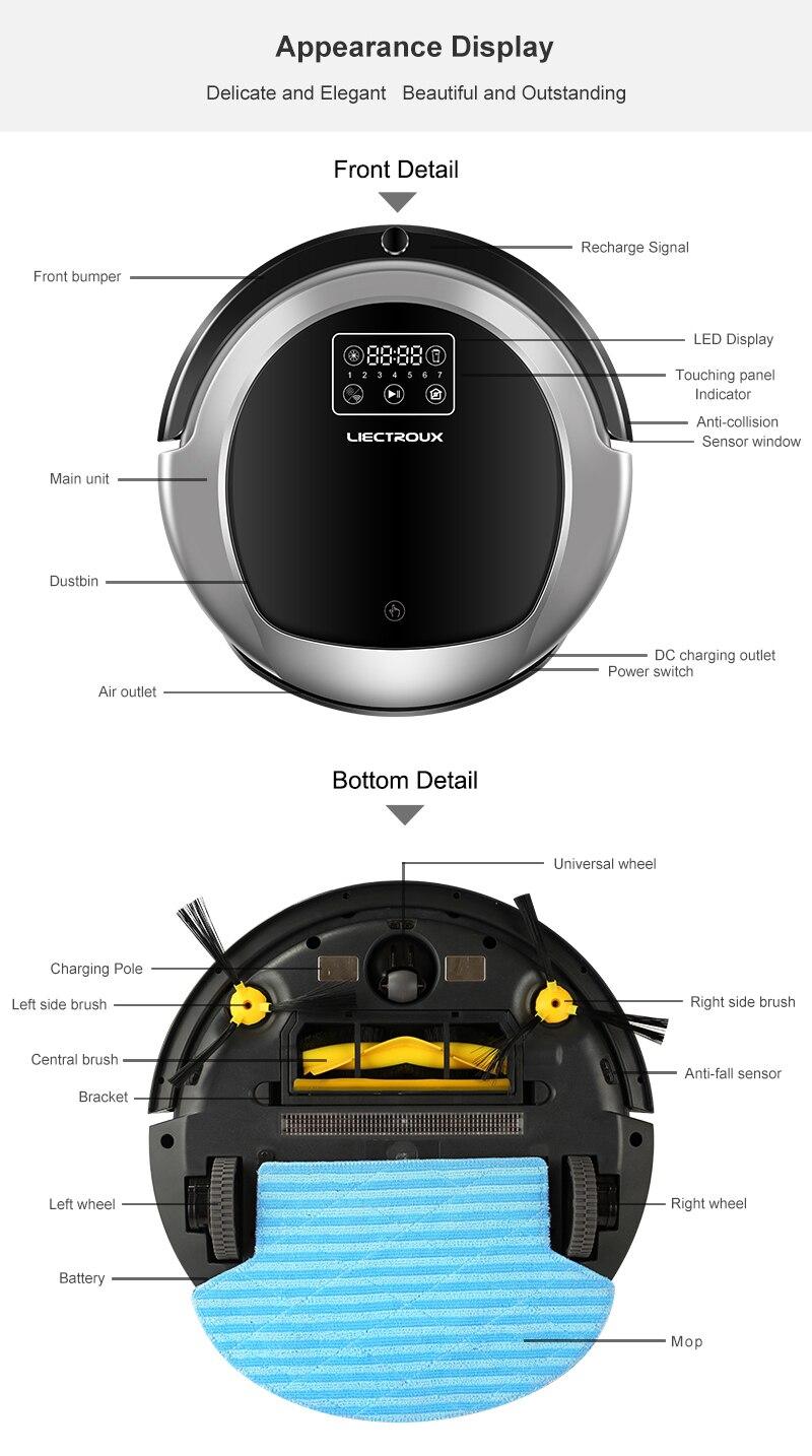 HTB1NhIEPzTpK1RjSZKPq6y3UpXaY (FBA)LIECTROUX Robot Vacuum Cleaner B6009,Map Navigation,Smart Memory,Suction 3000pa,Dual UV Lamp,Wet Dry Mop,Wifi App aspirador