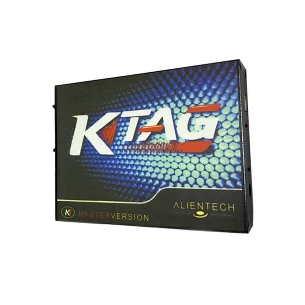 2018 Quality A+ KTAG K-TAG ECU Programming Tool ECU Prog Tool Master free shipping