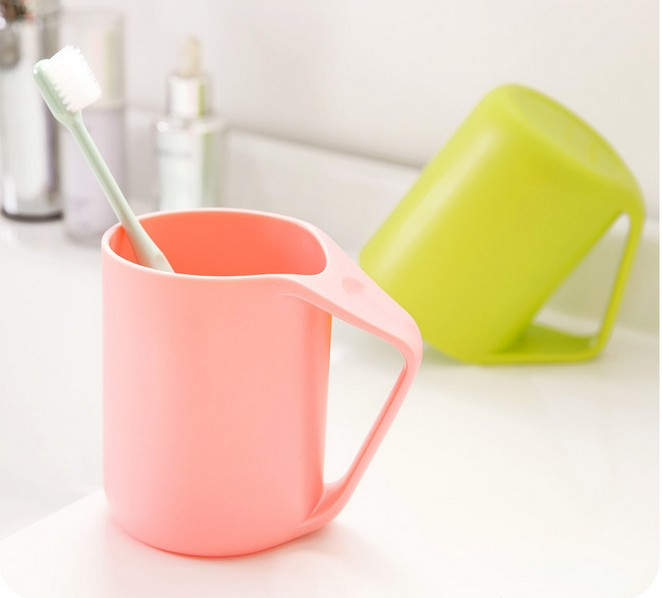 1PC Large Capacity New Bathroom Sets Tooth Brush Holder Cup Wash Gargle Suit Bathroom ac ...