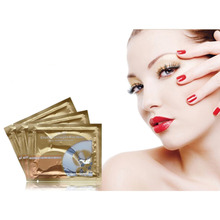 10packs Crystal Collagen Eye Mask Eye Patches Cosmetics Anti-Puffiness Dark Circle Beauty