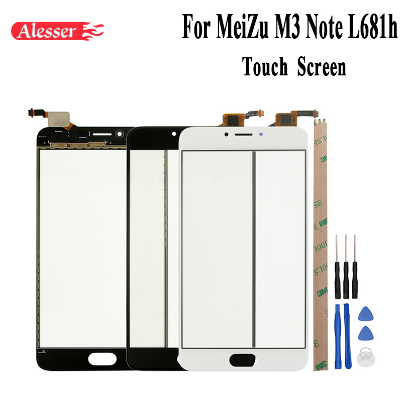 Alesser For MeiZu M3 Note L681h Sensor Touch Screen Digitizer Assembly Perfect Repair Parts