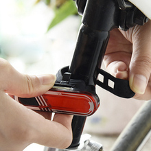 Bicycle accessories bike light mtb taillight Bike Lamp  USB Rechargeable seatpost