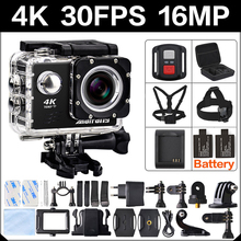 4 K 30FPS 16MP WIFI Camera Action 2 Sport HD 1080 P 60fps Cam sous-marine deportiva aller étanche 4 K 170D mini 3 pro sport Cam