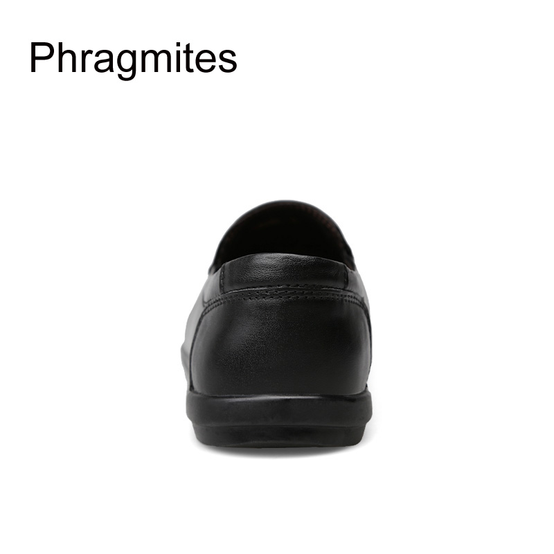 Phragmites summer men shoes fashion small size 37 46 Gommino top grade genuine leather summer breathable hole shoes lazy loafers in Men 39 s Casual Shoes from Shoes