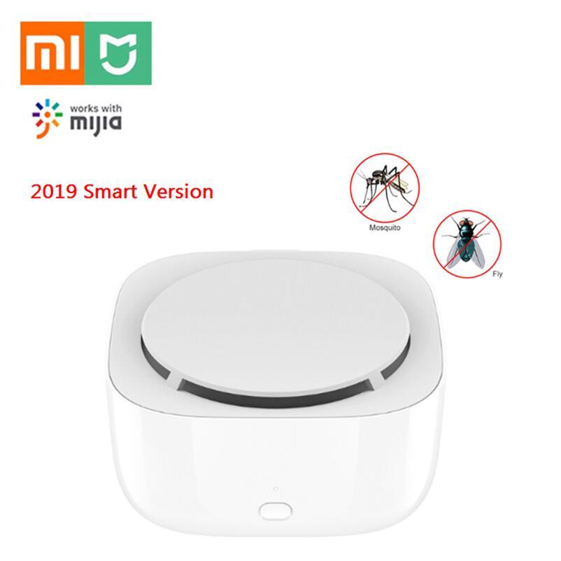 2019 Xiao mi mi jia Versão Dispeller Mosquito Repelente Assassino Inteligente interruptor do temporizador com luz LED por mi Telefone casa APP ou Básico