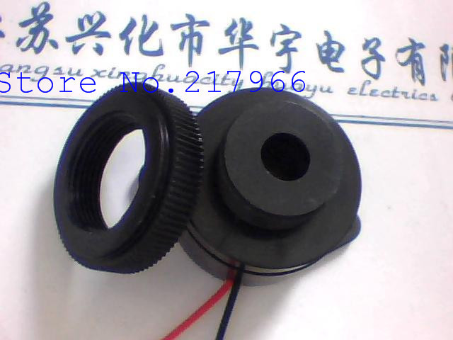 100pcs Piezo Buzzer 12V 24V STD 3025 continuous sound spiral-in Acoustic Components from Electronic Components & Supplies