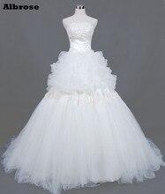 Unique Wedding Dress Long Elegant Wedding Dresses Sequined Bridal Gowns Appliques vestido de noiva Beaded robe de mariee