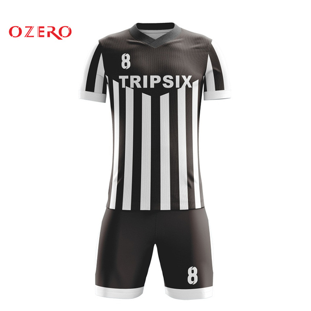 6d7a7648e black and white besteam top thai quality alibaba soccer jersey-in ...