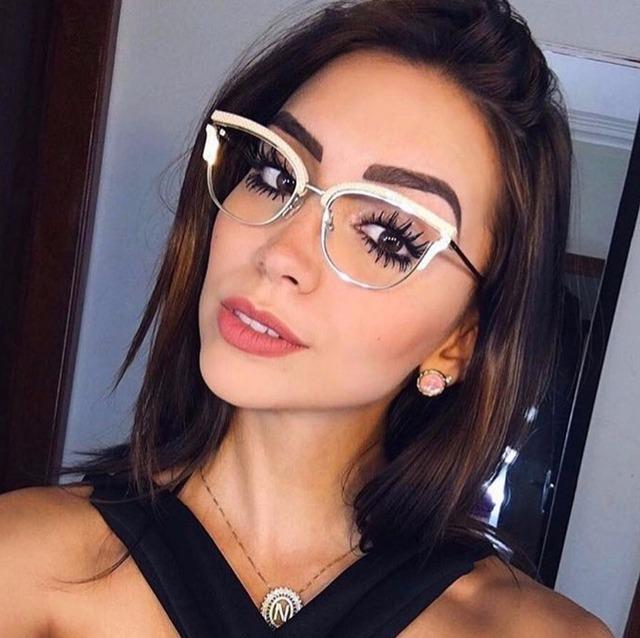 Gold Rivet  Designer Optical EyeGlasses