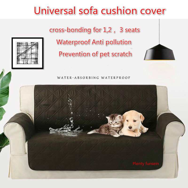 Sofa Couch Cover Chair Throw Pet anti-scratch Dog Kids Mat Furniture Protector Reversible Washable Removable Slipcovers 123Seat