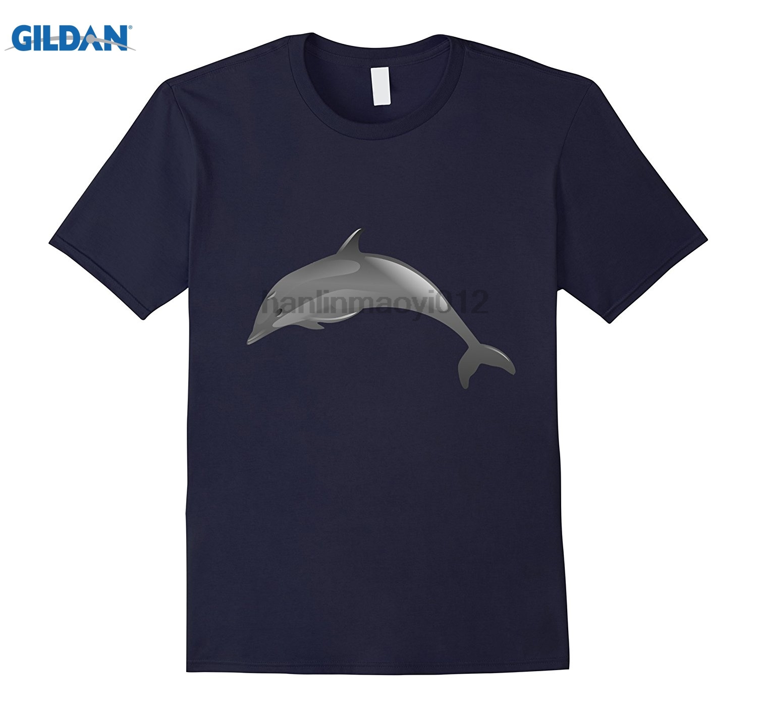 GILDAN Dolphin Mammal Marine Ocean t-shirt 2018 New Hot Summer GILDAN T-shirt 100% Cotton sunglasses women T-shirt