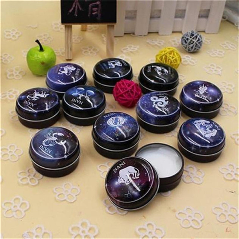 12 Signs Constellation Zodiac Scent Balm Magic Solid Scent Balm Deodorant Solid Fragrance For Women Men High Quality Aromatherap