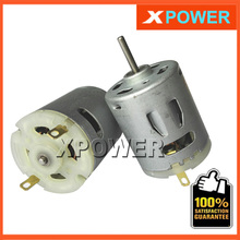 Wholesales RS 360 365 DC Motor 10500-19400 r/min 7.2v 12v  18v 24v For Hair dryer Motor Free Shipping