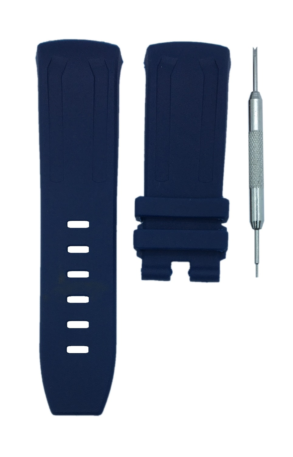 ea3f35f528c MDNEN 27x21mm Watch Band Strap AP 26560IO 26577TI 26221FT Free Spring Bar  Tool-in Watchbands from Watches on Aliexpress.com