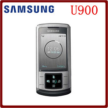 In stock Original Unlocked Samsung U900 Soul GSM 2MP Camera Slider Refurbished Cellphone Free shipping