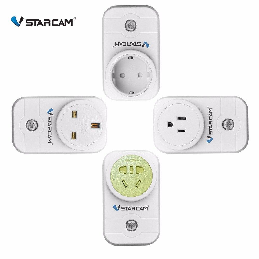 Vstarcam US UK AU EU Smart Power Socket Plug Mobile EYE 4 EyeCloud APP remote control