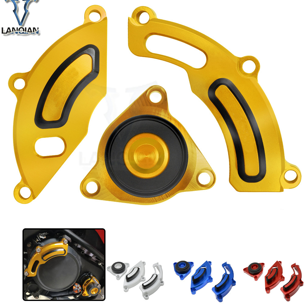 For YAMAHA TFS150/LC150 R150 Motorcycle CNC Engine Stator Covers Guard protection Side Protector