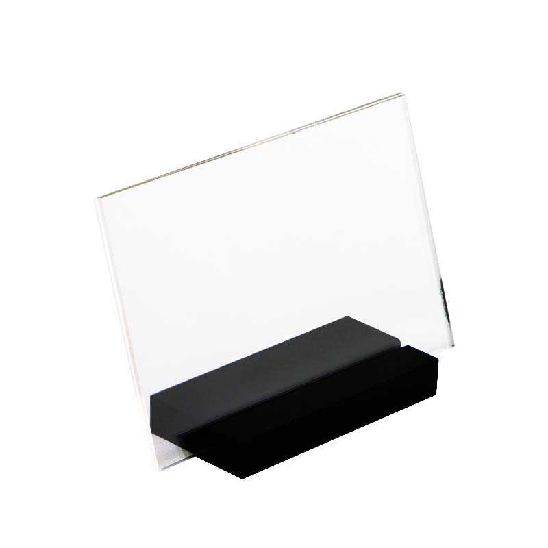 Desk Accessories & Organizer Responsible Acrylic Tabletop Menu Display Stand Menu Holder Desk Sign Menu Counter Display Stand Acrylic Block Frame Picture Photo Frame Fine Quality