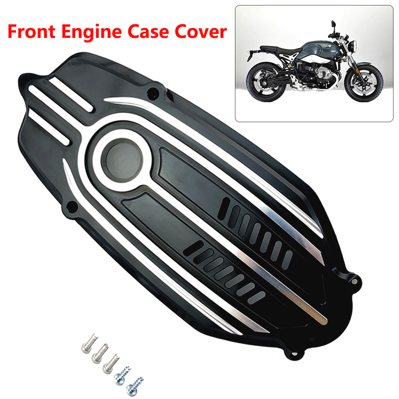 CNC Front Engine Case Cover Breast Plate For BMW R Nine T R9T 2014-2017