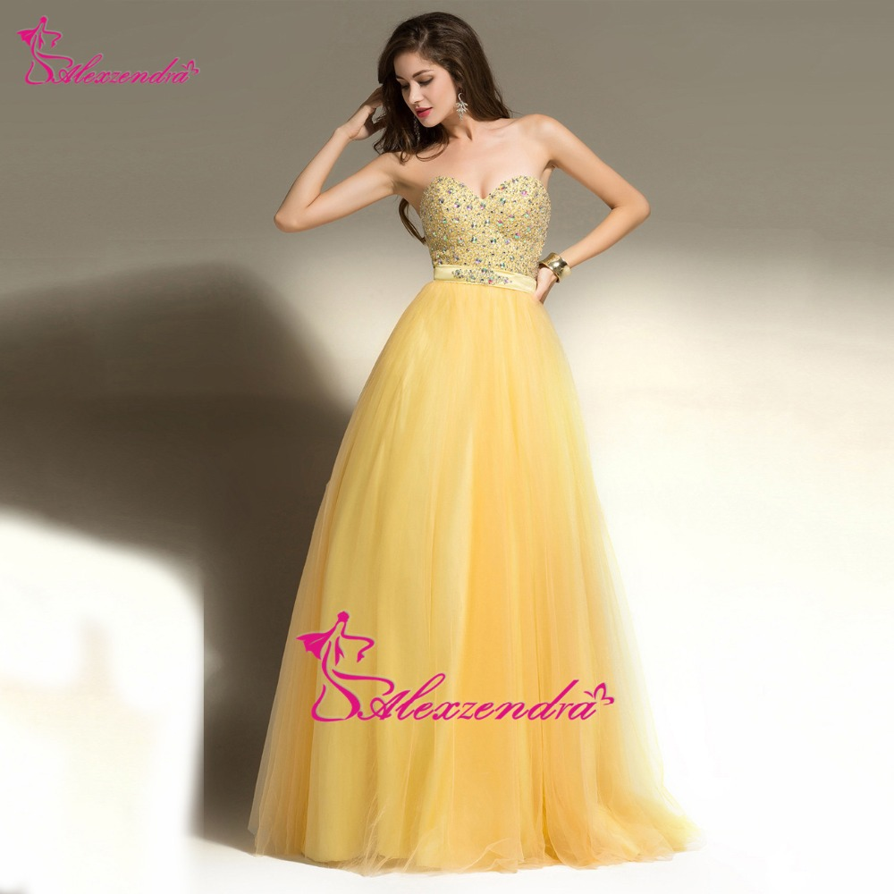Alexzendra Beaded Bodice Sweetheart A Line Long   Prom     Dresses   Formal Evening   Dress   Party   Dresses   Plus Size
