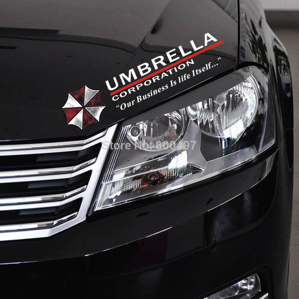 Car sticker design philippines - Newest Design Umbrella Car Stickers Sports Mind Eyelids Decals For Tesla Chevrolet Volkswagen Honda Hyundai Kia