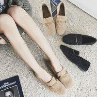 MYCORON/Модная Брендовая женская обувь из натуральной кожи на плоской подошве, сезон осень зима, модные лоферы, женская обувь на плоской подошв