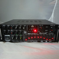 Sunbuck AV MP326C 220V/12V 200W+200W Home power amplifier karaoke OK amplifier with Bluetooth EQ balanced card audio amplifier