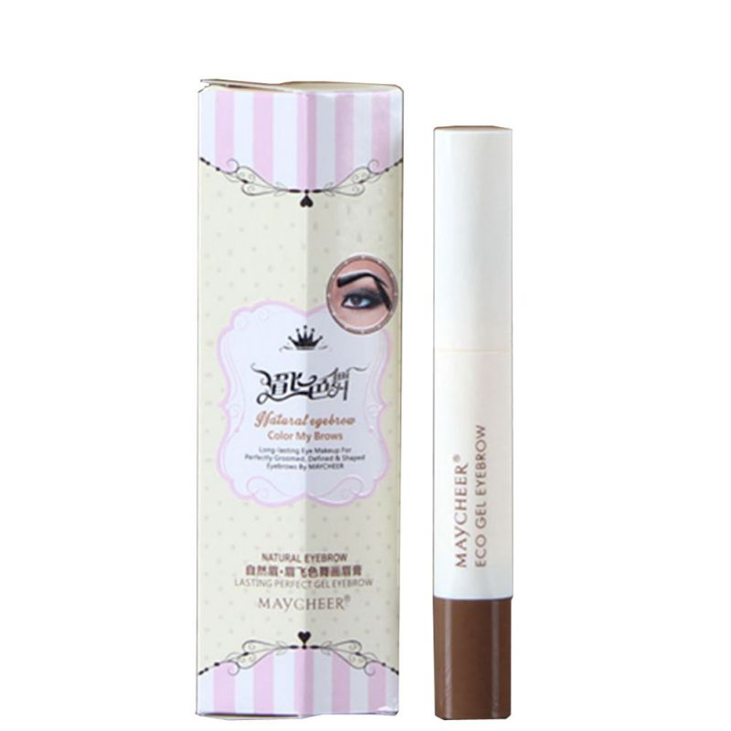 1pcs Girl Professional Makeup Eye Brow Not Shading <font><b>Threading</b></font> Cream Natural Perfect <font><b>Eyebrow</b></font> Gel Long Lasting